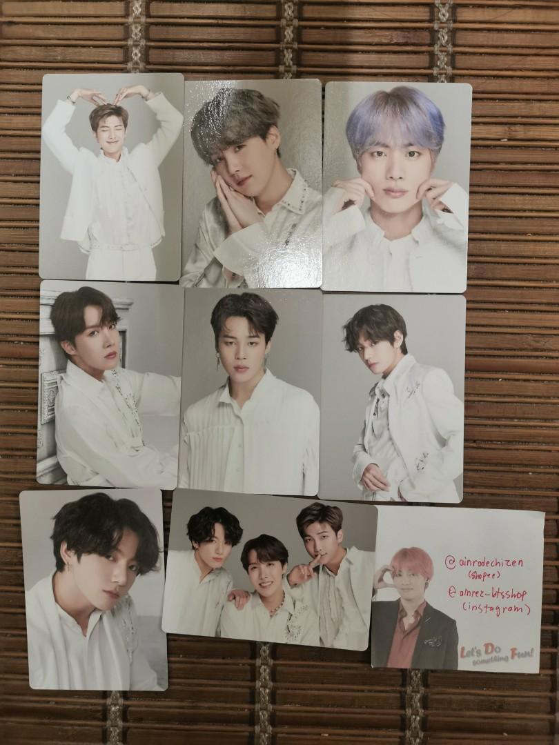 [READYSTOCK] BTS MINI PHOTOCARD SET C LOVE YOURSELF SPEAK YOURSELF THE FINAL