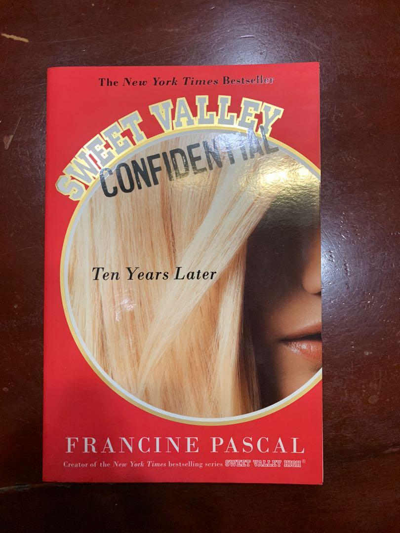 Sweet Valley Confidential : 10 Years Later (very good condition!)