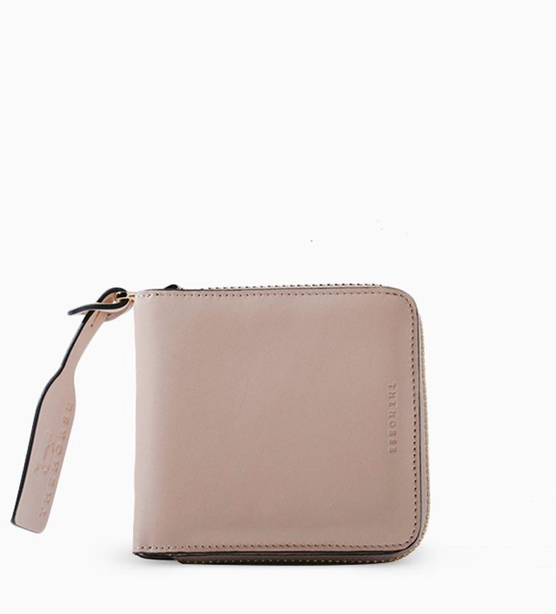 The Horse block wallet in blush  *new, never used*