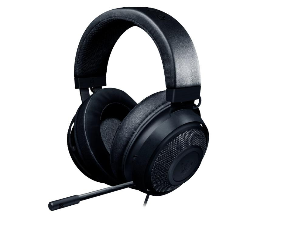 The NEW Razer Kraken Black Multi Platform Wired Gaming Headset BRAND NEW 2019
