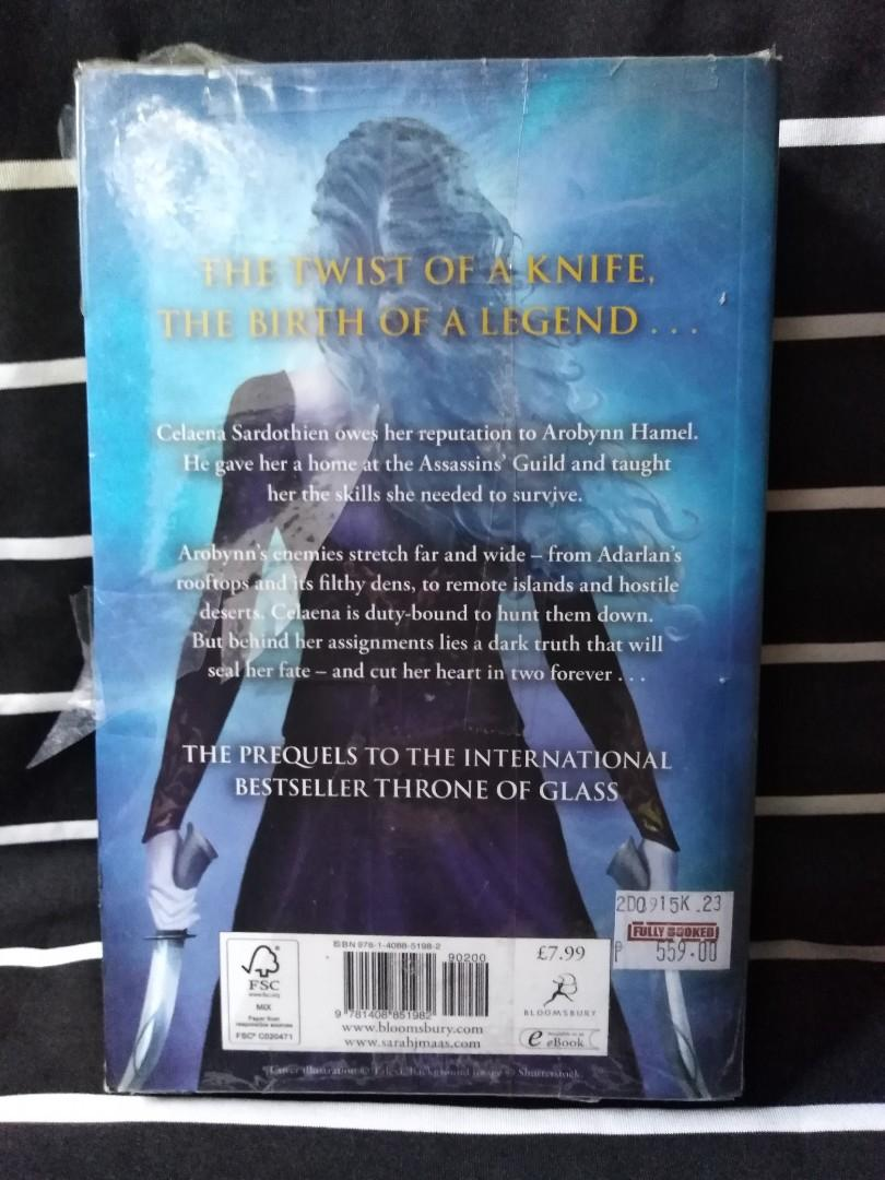 The Throne of Glass Novella: The Assassin's Blade by Sarah J. Maas