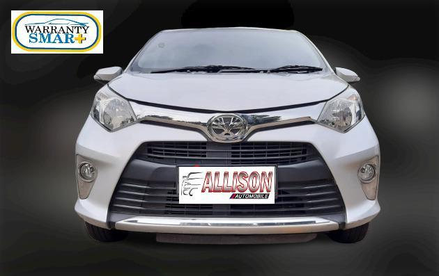 Toyota Calya G AT 2017 Silver #Dp 11,9 Jt# No Pol Genapl#Mobil Bekas Bergaransi#