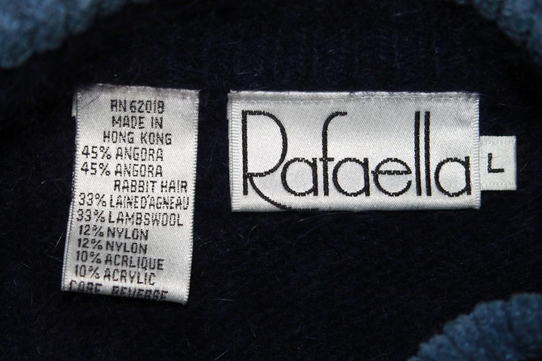 Vintage Rafaella Lambs Wool/Angora Rabbit Hair Winter Sweater