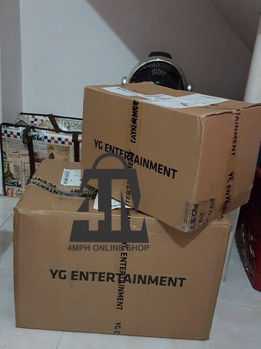 (WTB) Want To Buy YG Entertaiment/ Blackpink Empty Boxes