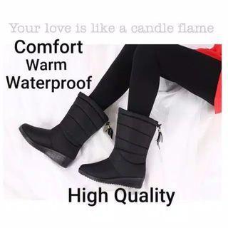 Sepatu musim dingin winter boots 38