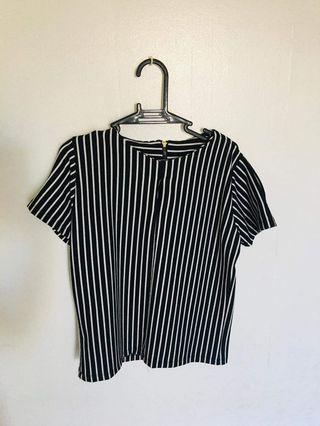 Stripes Blouse FREE SHIPPING IN MANILA