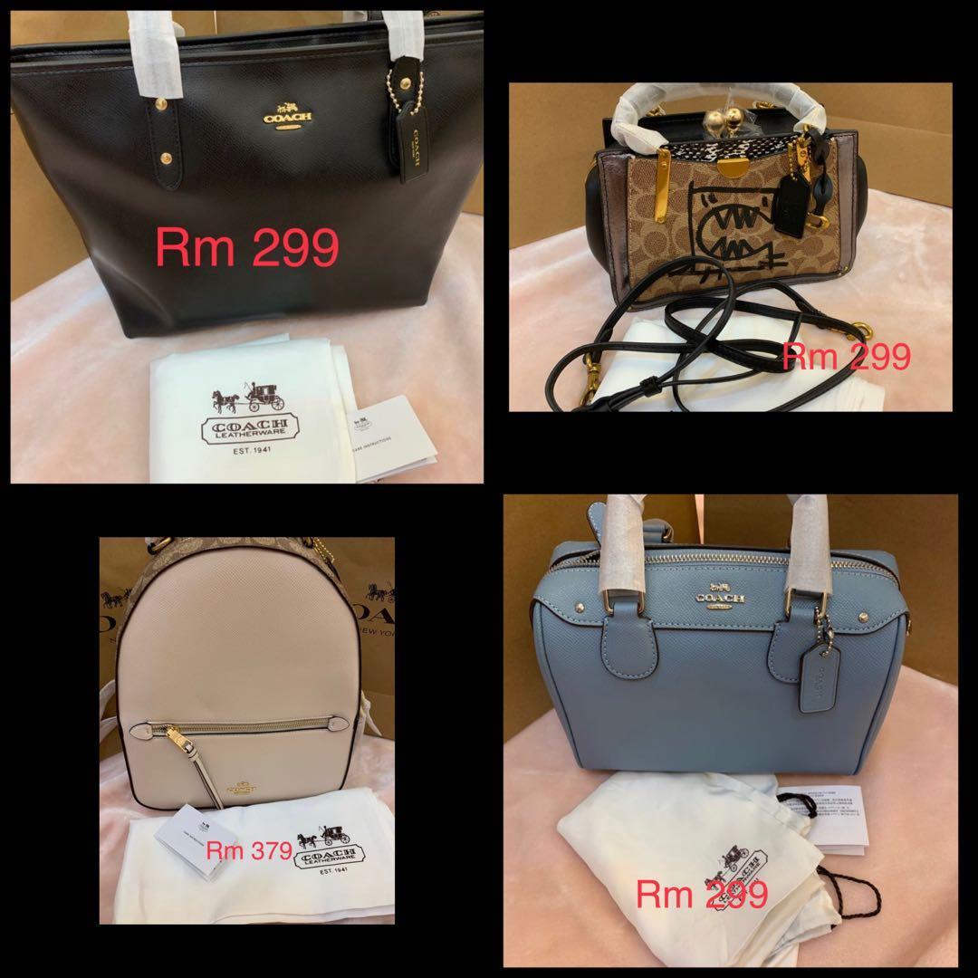 150220 Ready stock authentic women bag wallet men belt backpack listing crossbody handbag hhib
