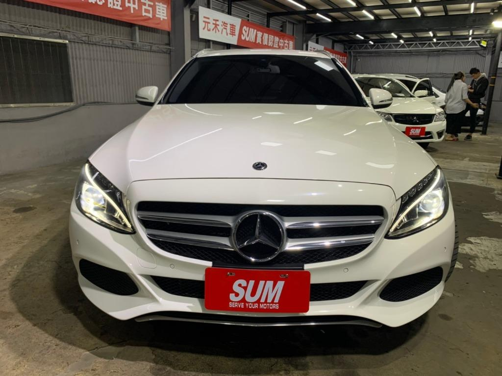 2015年 總代理Mercedes-Benz C200d avantgarde 1.6