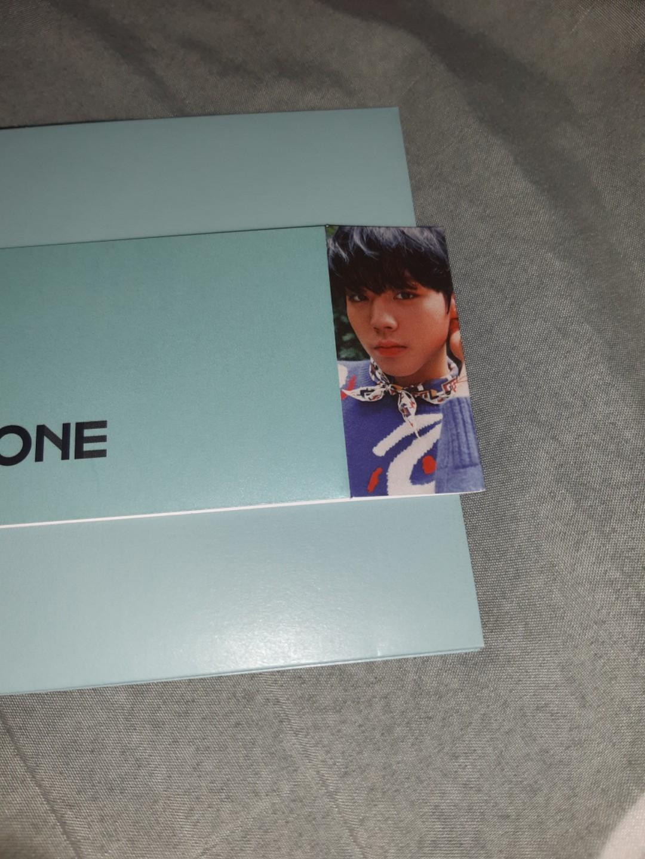 [ WTS ] park jihoon cover album sleeve wanna one power of destiny romance ver