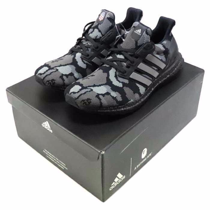 A Bathing Ape x UltraBoost 4.0 Black Camo, Men's Fashion, Footwear ...