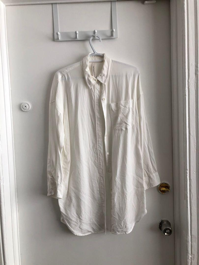 ARITZIA THE GROUP BY BABATON EVERYDAY BUTTON SHIRT