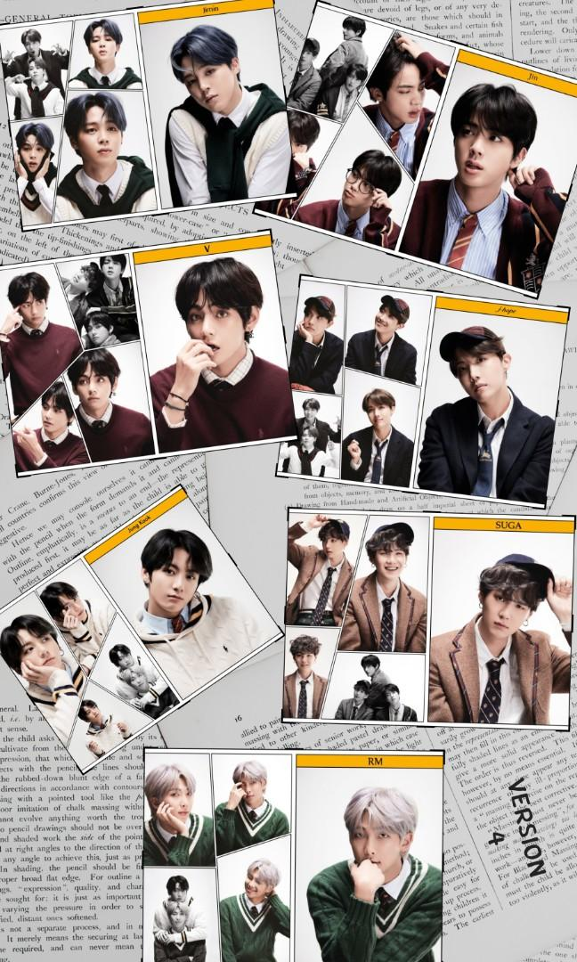 BTS MAPS OF THE SOUL : 7 (CAN CHOOSE VERSION-MYGO)