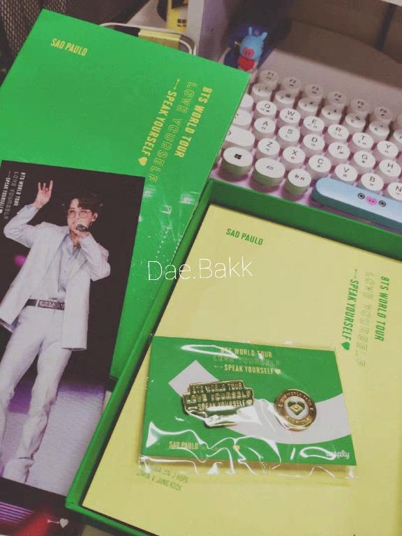 BTS World Tour ' Love Yourself: Speak Yourself' Sao Paulo DVD + PO Free Gift