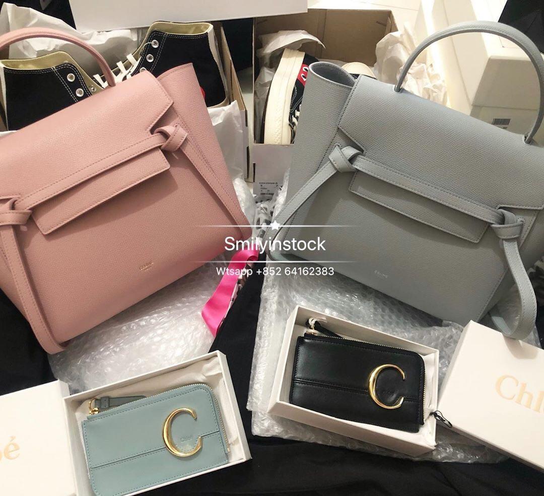 Celine Mineral Micro Belt Bag 名牌 袋 銀包 Carousell