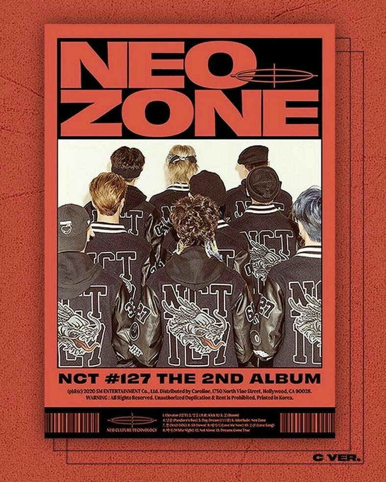 [choose version] NCT 127 2ND FULL ALBUM NEO ZONE PRE ORDER
