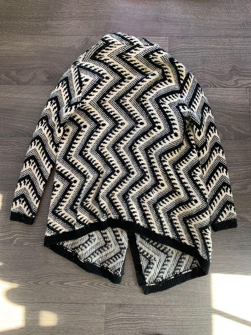 Juliette & Jake Wool Blend Sweater Jacket Size Small