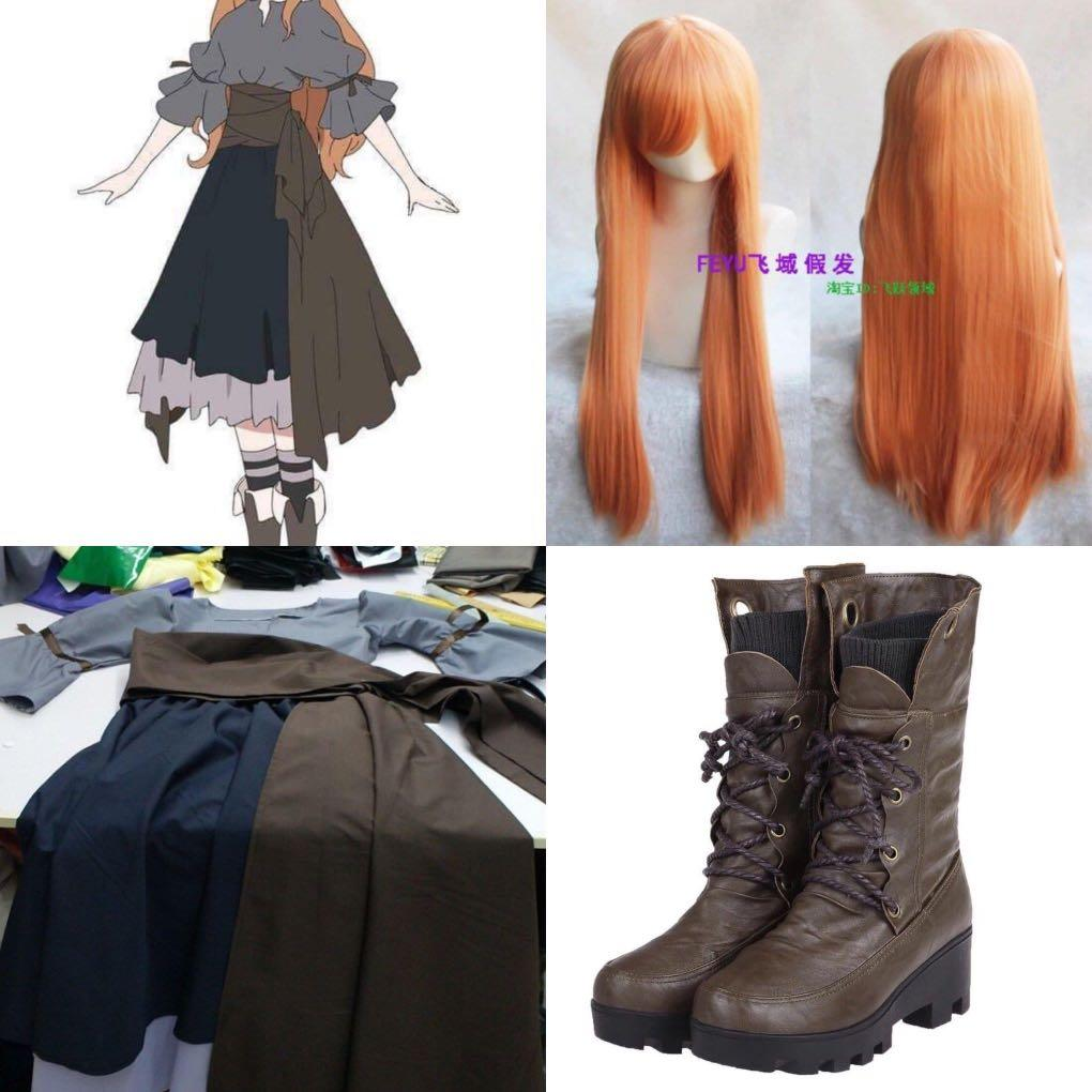 Maquia When the Promised Flower Blooms Full Cosplay + Wig & Shoes