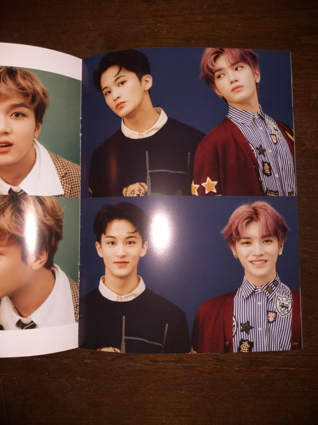 NCT 127 2020 Season's Greetings - Mini Brochure + DVD