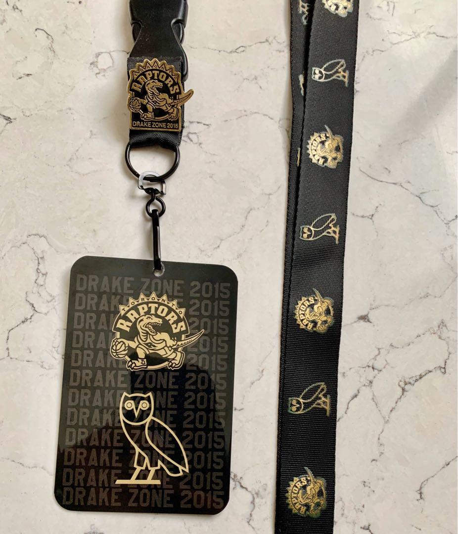 RAPTORS x OVO Extremely Rare - Limited edition lanyard + pin