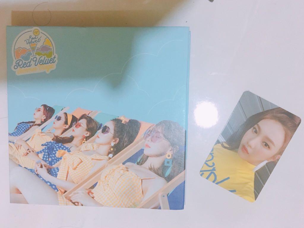 Red Velvet Summer Magic Normal Version with Joy PC