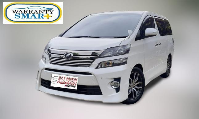 Toyota Vellfire Z 2.4 AT 2013 Putih, Dp 83,9 Jt, No Pol Ganjil