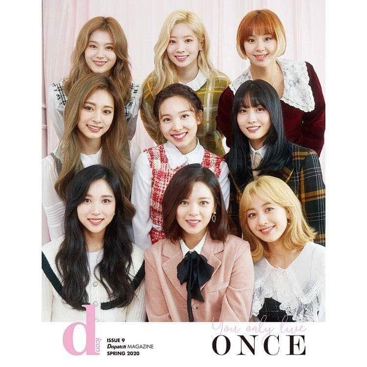 💕TWICE💕 [dicon vol.7 TWICE-You Only Live Once] ❄️Dispatch Magazine ‼️Limited‼️