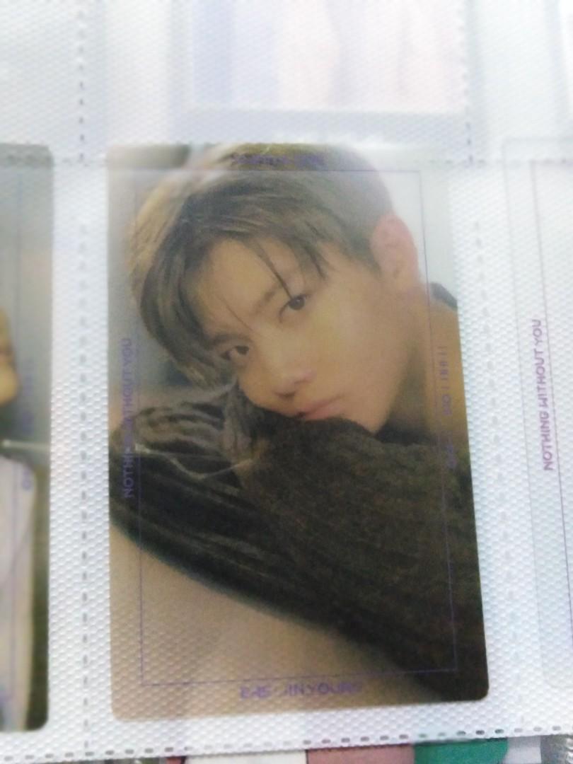 Wanna One / Cix Bae Jinyoung transparent photocard