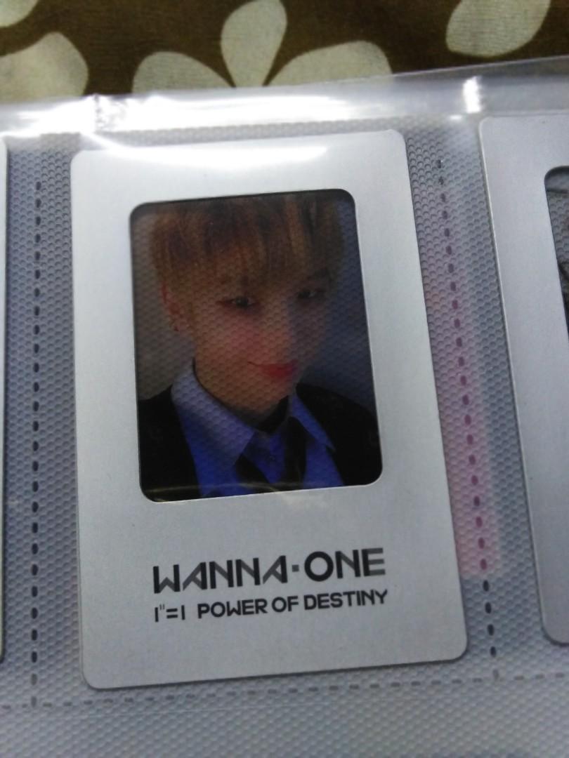 Wanna One Kang Daniel official film pc power of destiny
