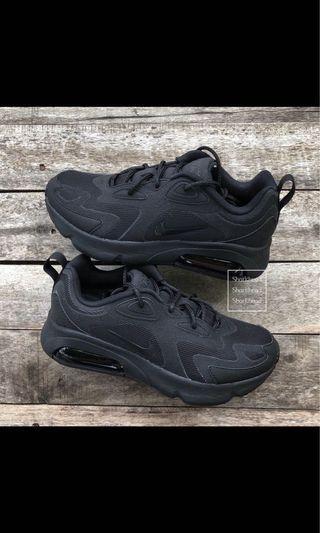 Nike air max 200 全黑