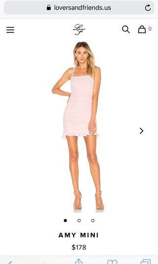 Revolve: Lovers and Friends Amy Mini Dress (LARGE)