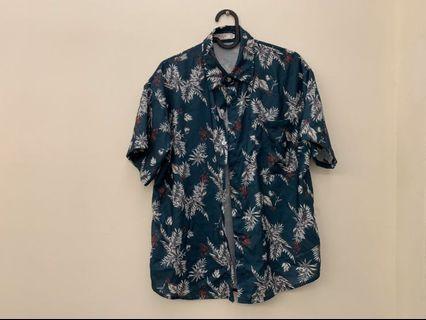 古巴領、短袖襯衫、復古襯衫