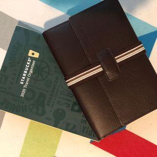 Starbucks Travel Organizer Notebook