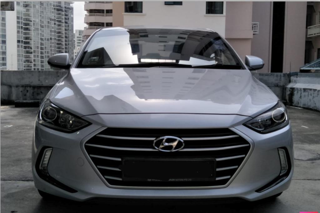 Recession Deal 2019 Sporty Elantra Sedan Fuel Saver 1L = 19KM Tel: 6348 0500