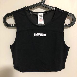 NWT Gymshark Black Form Crop Top