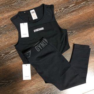 NWT Gymshark Black Bundle