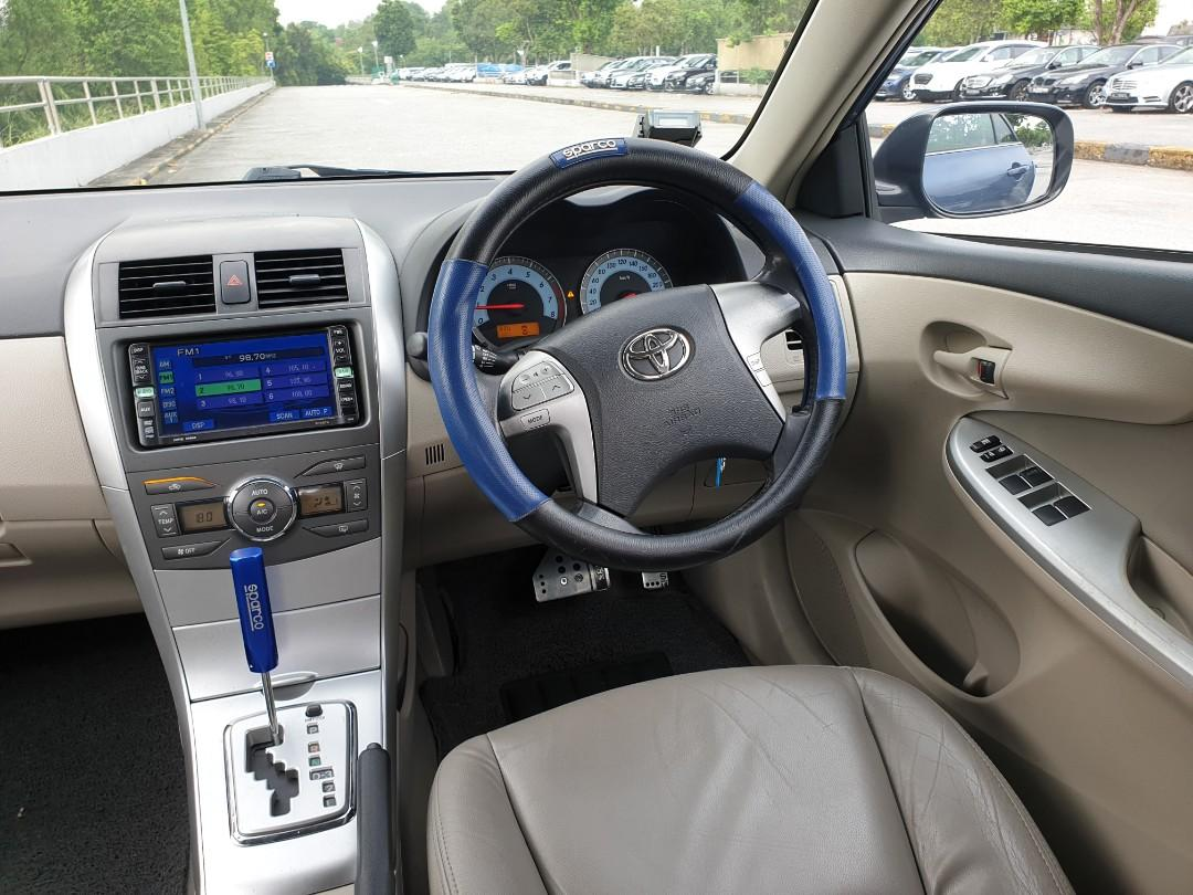 [$350/week!] Toyota Altis 1.6A Long Term Leasing available! PHV Welcomed!