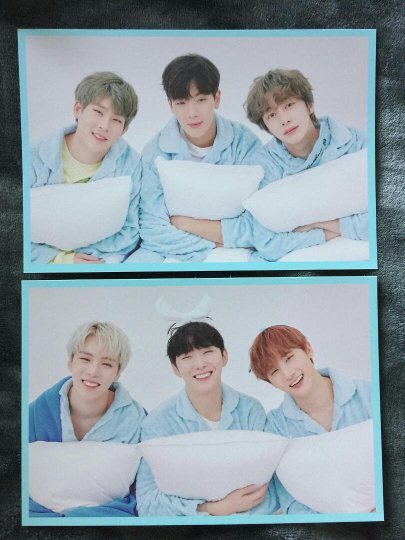 🌙⛅ MONSTA X 4TH OFFICIAL FANCON with MONBEBE #MX_HOME_PARTY ❄🌟 UNIT POSTCARDS