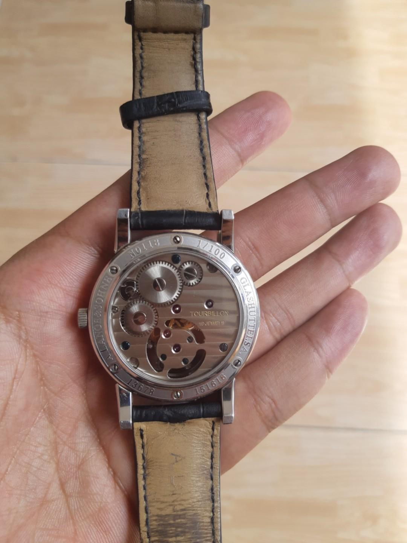 Rare Not Verified A Lange & Sohne Glashutte I/SA Tourbillion 19 Jewels Quality Tudor Seiko G Shock Vintage