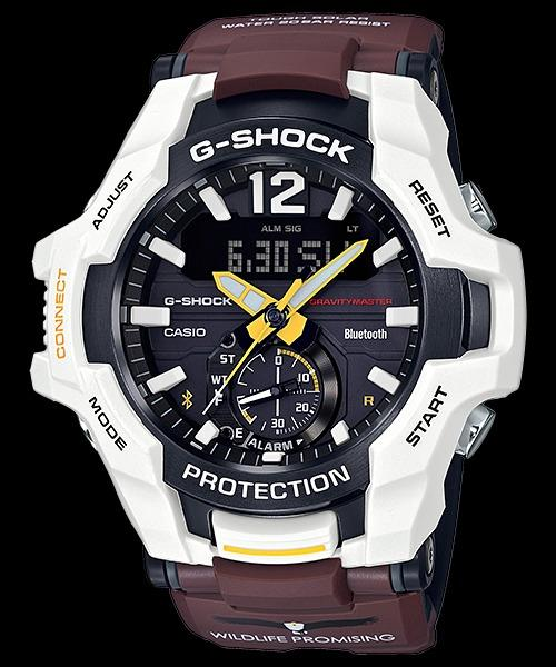 CASIO G-Shock Wildlife Promising Collaboration Limited Models Brown Resin Band Watch GR-B100WLP-7A