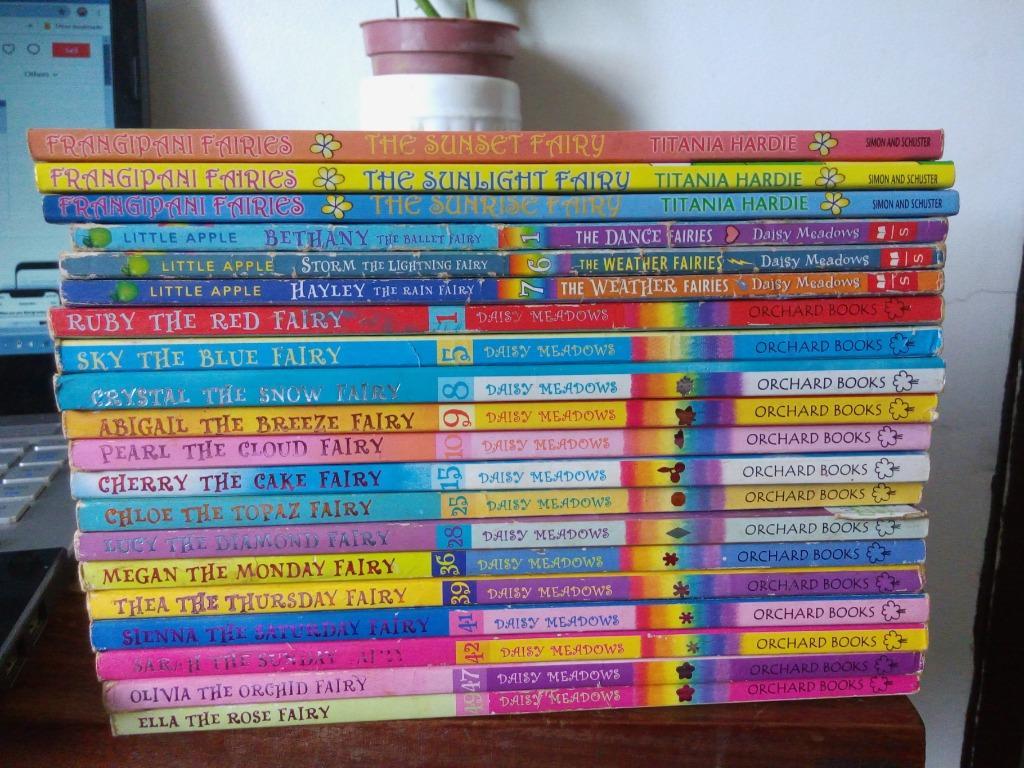 20 pcs. FAIRY books by Daisy Meadows + Frangipani Fairies by Titania Hardie (Children's books)
