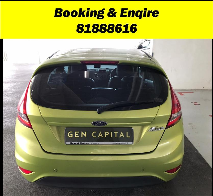Ford Fiesta Subsidised rental rates!! JUST IN! PHV/ Personal/ Parcel delivery ready. Just $500 Deposit driveoff immediately. No hidden cost. Whatsapp 81888616 now!