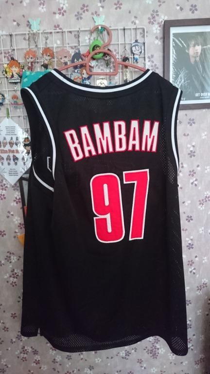 GOT7 Eyes On You Concert Goods: Basketball Jersey (BamBam)