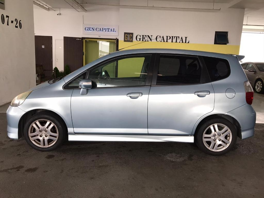 Honda Jazz JUST IN! Superb condition with cheapest rental in town! Fuel efficient & Spacious. $500 Deposit driveoff immediately! whatsapp 85884811 now to reserve!!