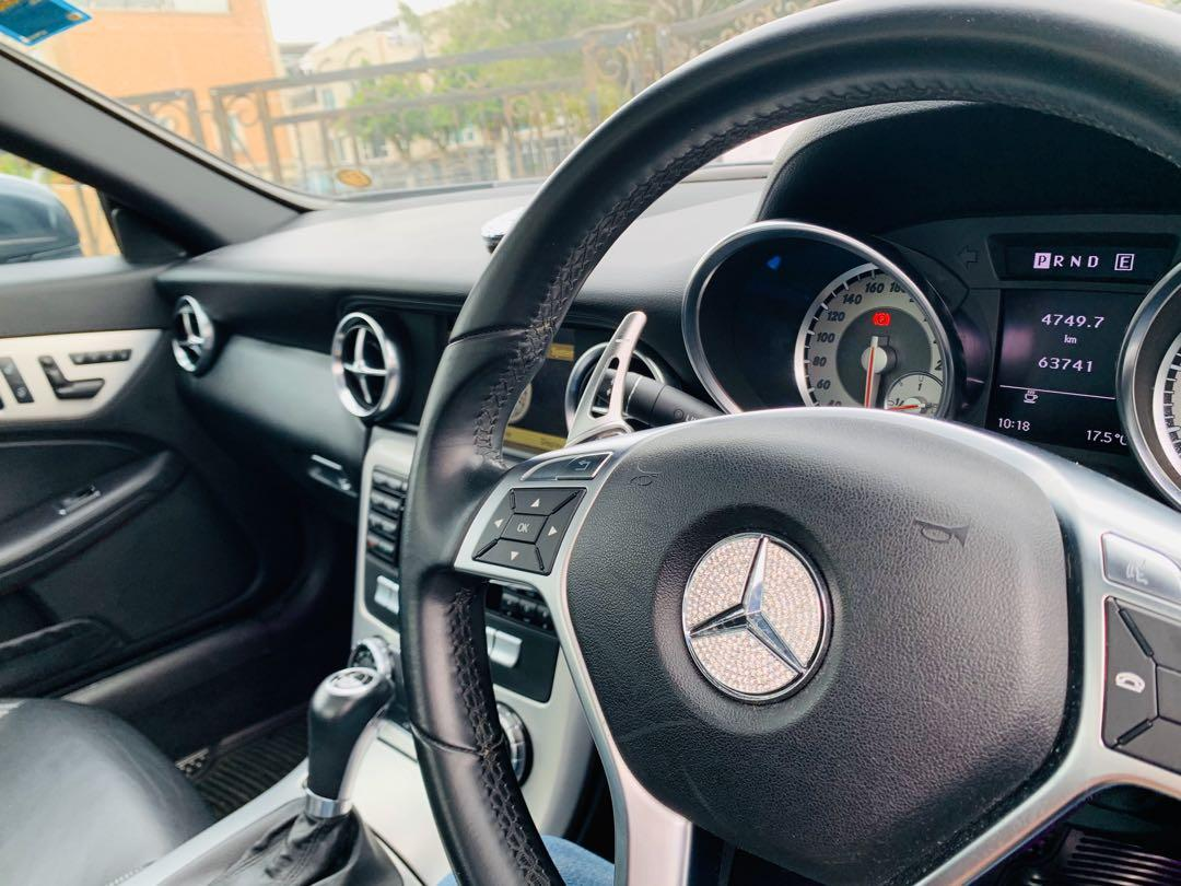 Mercedes-Benz SLK250 BlueEfficiency 7G-Tronic (A)