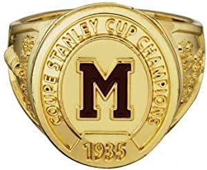 Molson NHL Montreal Maroons Stanley Cup Championship Ring (Size 9)