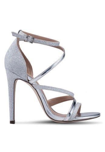 Open Toe Ankle Strap Stiletto Heels - CALL IT SPRING