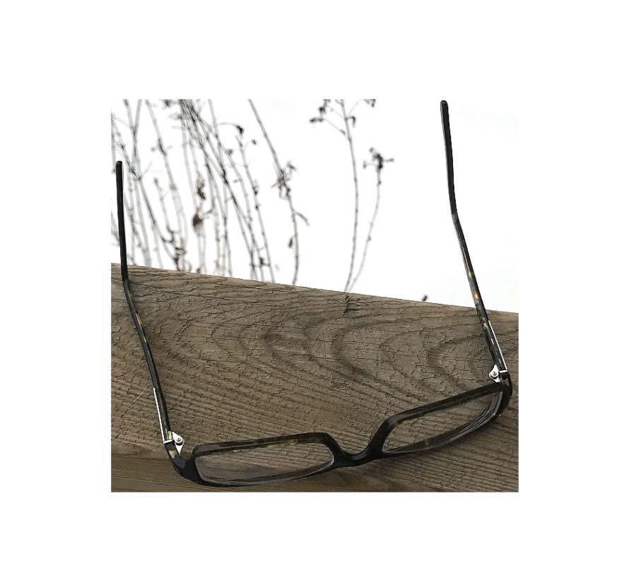 Prada Eyeglasses Tortoiseshell Square Frame + Case