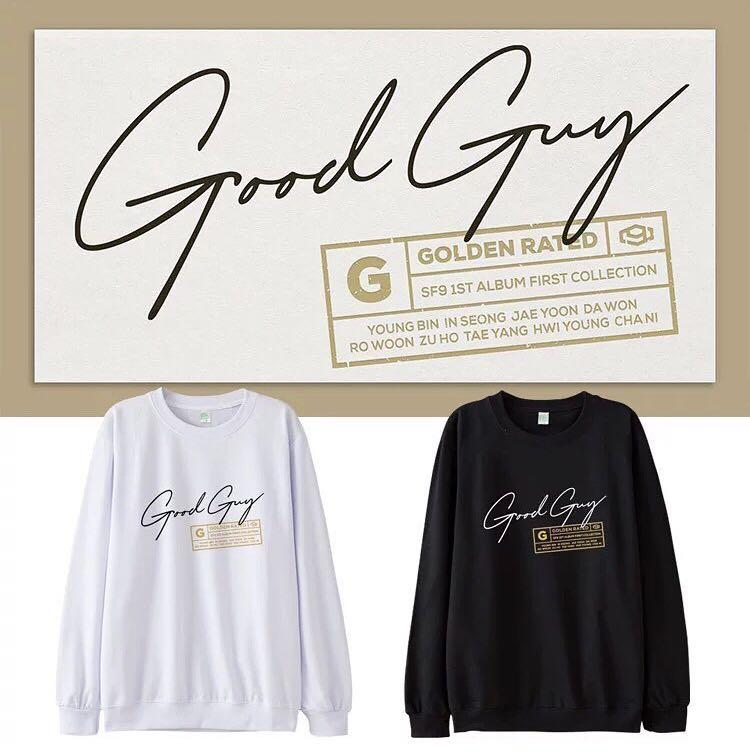 PREORDER - SF9 GOOD GUY SWEATSHIRT S-3XL *each* exc.pos