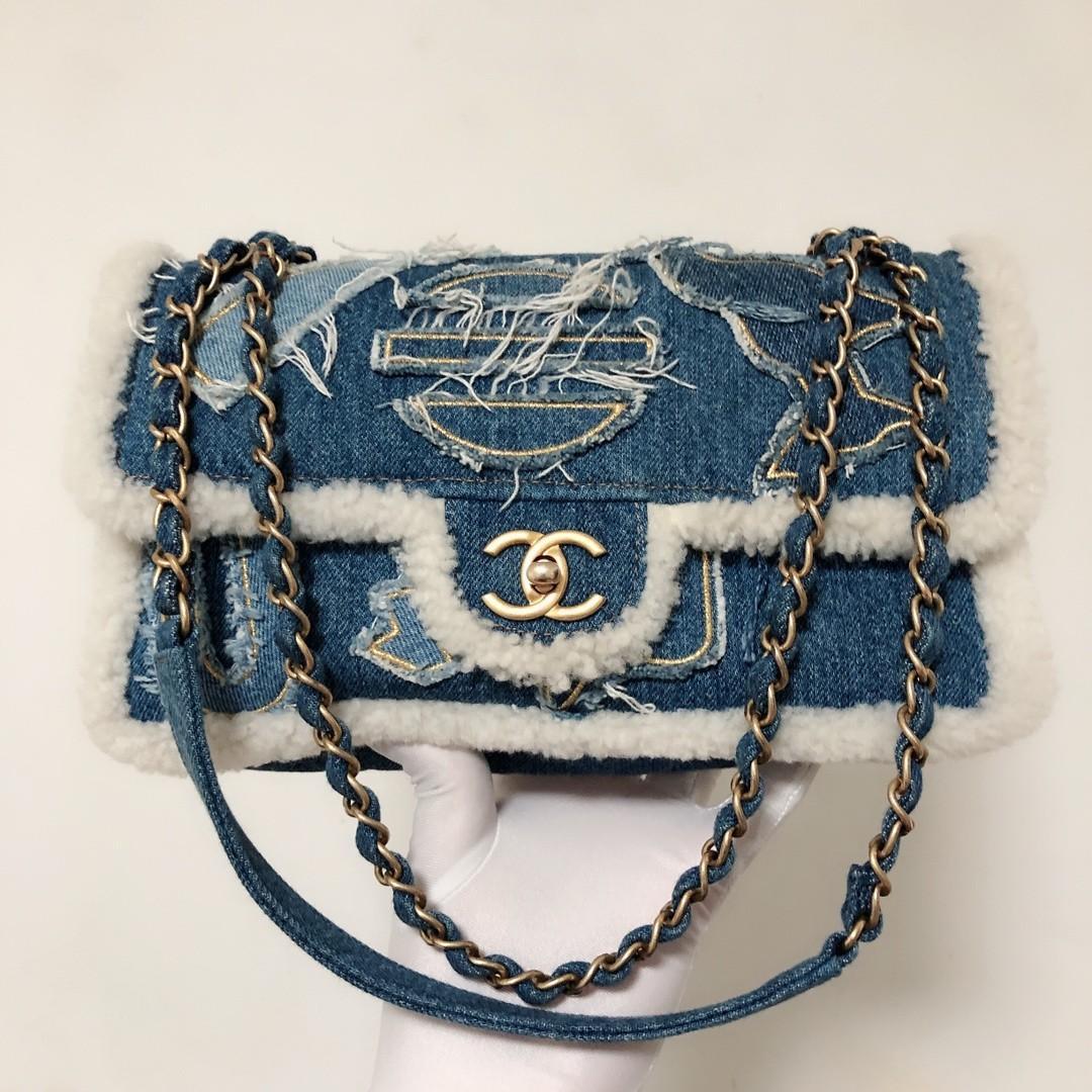 Chanel Chanel Flap Chanel CF Chanel Classic Flap Chanel Bag Chanel  Sling Bag Chanel Denim Chanel