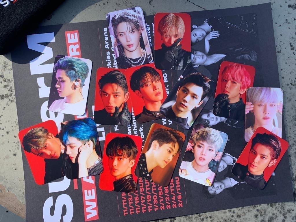 Superm tour pc set 2.0 EXO BAEKHYUN KAI NCT SHINEE WAYV TAEMIN